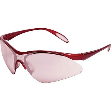 JS410 Jazz Safety Eyewear, Burgandy, SAO616, 12/Pack