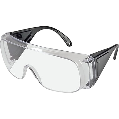 Polysafe Versatile, Yet Economical Compliance, Visitor Safety Eyewear, 20/Pack