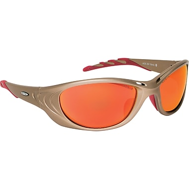 Safety Eyewear, Red, Red Accent Colour, SAP464, 2/Pack