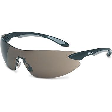 Safety Eyewear, Grey, Lens Tint, Grey/Hardcoat, SAQ727, 12/Pack
