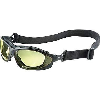 Safety Eyewear, Amber, 4, Lens Tint/lens, Amber Uvextra Af