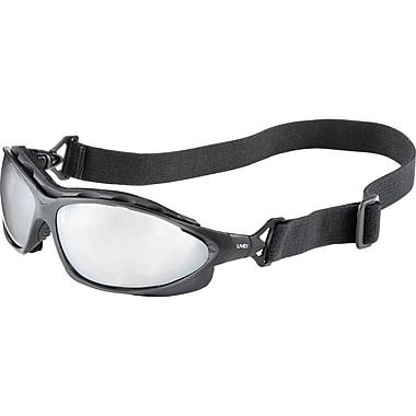 Safety Eyewear, Mirror, 4, Frame Colour, Black
