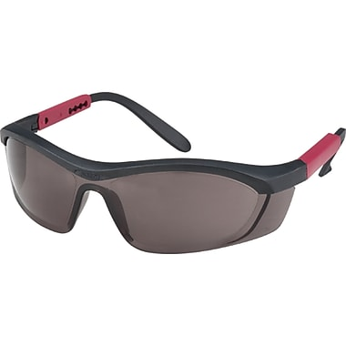 Tornado F5 Eye Protection, Smoke, 6, Frame Colour, Black With Red Trim