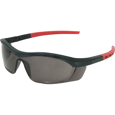 Tornado F5 Eye Protection, Smoke, 6, Eye Protection Type, Safety Eyewear
