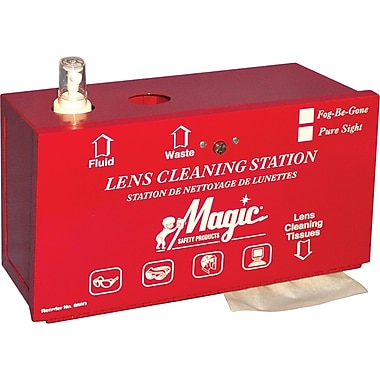 Metal Lens Cleaning Stations
