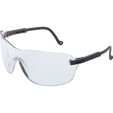 Spitfire No Distractions, No Distortions, No Excuses, Clear, 12, Eye Protection Type, Safety Eyewear