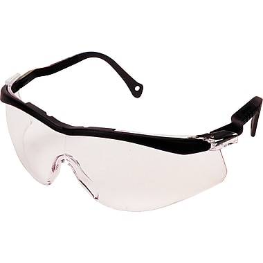 The Edge Safety Glasses, Clear, Safety Eyewear, 12/Pack