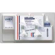 Uvex Clear, 2, Eye Protection Type, Lens Cleaning Station