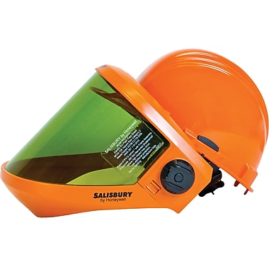 Arc Flash Protection Faceshields with Dielectric Hard Hat