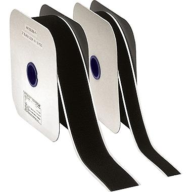 Aplix Fastener Peel & Stick Hook Fastener, Black, 3/4