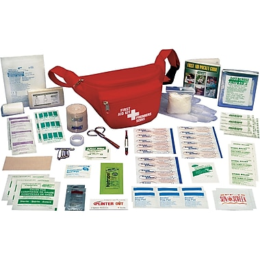 Hikers' First Aid Kits, 3/Pack