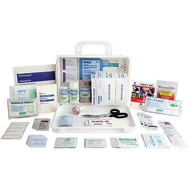 Safecross Sports First Aid Kit, Plastic, 3/Pack, (SAY238)
