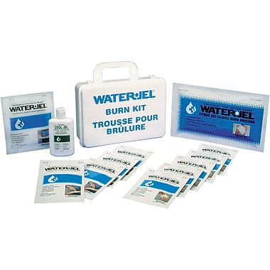 Water Jel - Emergency Burn Kits, Container Type - 16-Unit Plastic, SAY459