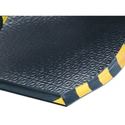 Tapis Happy Feet No. 480, Sam184, noir/jaune