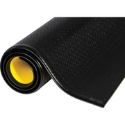Wear-bond Tuff Spun, Sax708, noir avec bordures jaunes