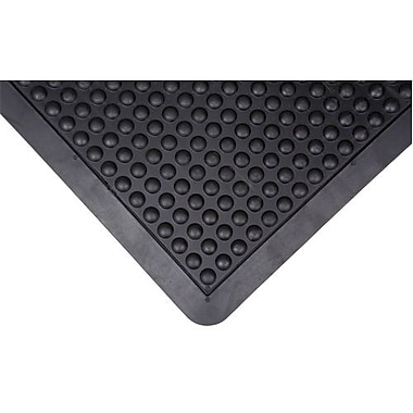 Anti-fatigue Dome Mat, Sdl859, Black, 2/Pack