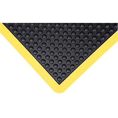 Anti-fatigue Dome Mat, Sdl858, Black, 2/Pack