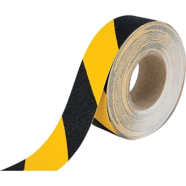 Anti-skid Tape, Sdn089, Yellow/black, 3/Pack