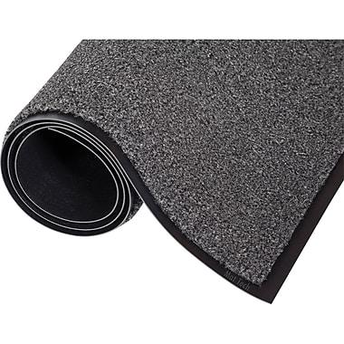 Tapis de séchage Proluxe fait à 100 % d'oléfine, Ng782, 3 x 4 pi, charbon, 2/paquet