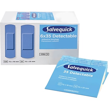 Salvequick Bandage Dispensing Systems - Sterile Refills, 6/Pack