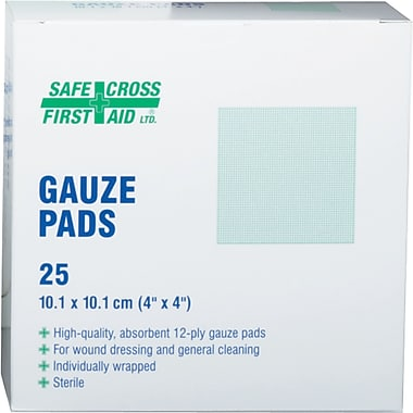 Gauze Pads, 300/Pack, (SAY347)