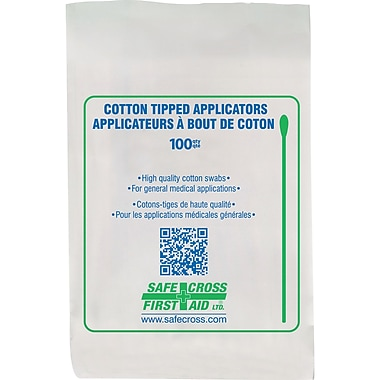 Cotton Tipped Applicators, 3600/Pack, (SAY379)