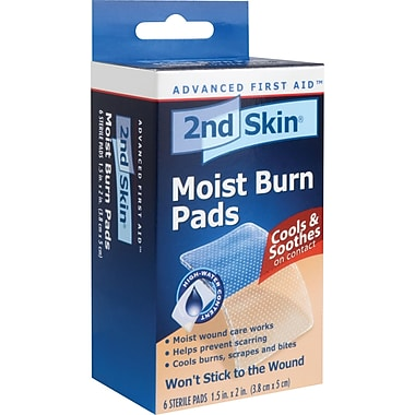 Spenco 2nd Skin Moist Burn Pads, Say448, 24/Pack