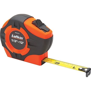 Tape Measure Hi-Viz Orange 1/2