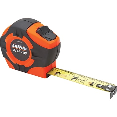 Tape Measure Hi-Viz Orange 3/4