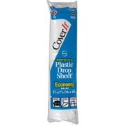 Plastic Drop Sheets, NI622, 12/Pack