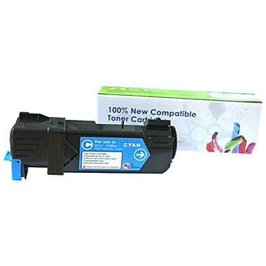 Fuzion New Compatible Dell 2150cn Cyan Toner Cartridges Standard Yield