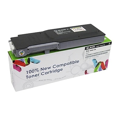Fuzion New Compatible Dell C3760N Black Toner Cartridges Standard Yield