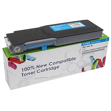 Fuzion New Compatible Dell C3760N Cyan Toner Cartridges Standard Yield