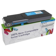 fuzion™ New Compatible Dell C3760N Cyan Toner Cartridges, Standard Yield (3318432)