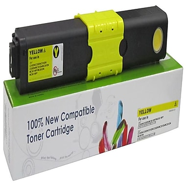 Fuzion New Compatible Okidata C310/C510 Yellow Toner Cartridges, Standard Yield (44469701)
