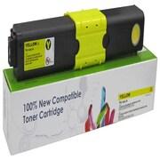 fuzion™ New Compatible Okidata C310/C510 Yellow Toner Cartridges, Standard Yield (44469701)