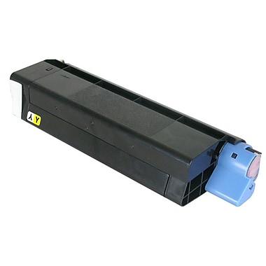 Fuzion New Compatible Okidata C5100 Yellow Toner Cartridges, Standard Yield (43034801, C6)