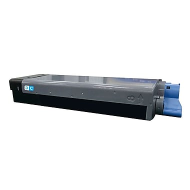Fuzion New Compatible Okidata C710/711 Cyan Toner Cartridges, Standard Yield (43866103)