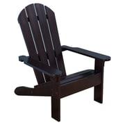 KidKraft Kids Adirondack Chair; Espresso