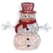 Brite Star Spun Glitter 100 Light Santa Silhouette Christmas Decoration