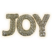 Brite Star Spun Glitter 100 Light Joy Sign Silhouette