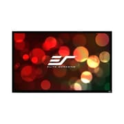 Elite Screens Grey Fixed Frame Projection Screen; 200'' Diagonal