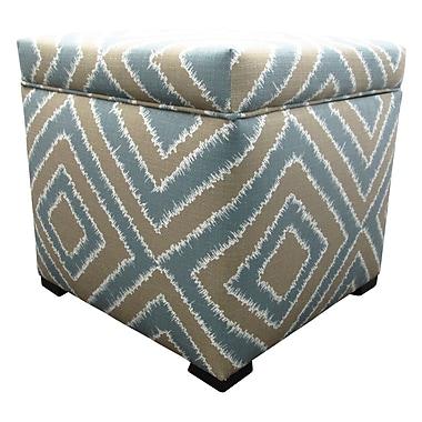 Sole Designs Tami Cube Ottoman; Nouveau Capri