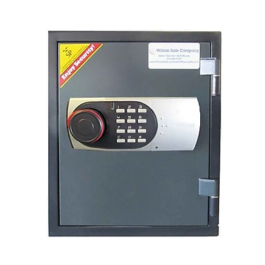 Wilson Safe Electronic Lock Fire Safe 0.9 CuFt