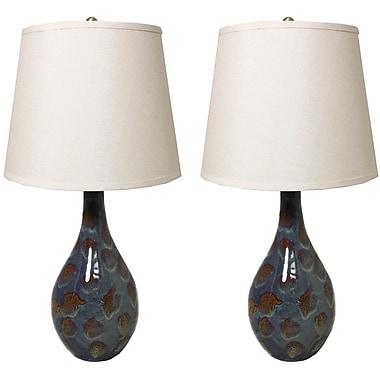EC World Imports Casa Cortes Malibu Classic 31'' Table Lamp (Set of 2)