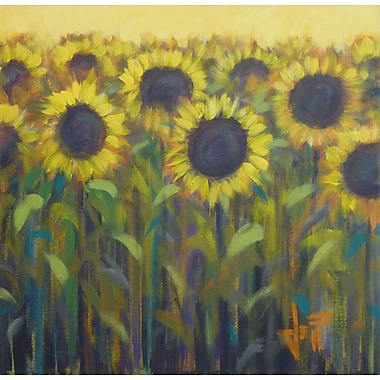 HadleyHouseCo Sun Up by Jeff Boutin Painting Print on Wrapped Canvas; 10'' H x 10'' W x 1.5'' D