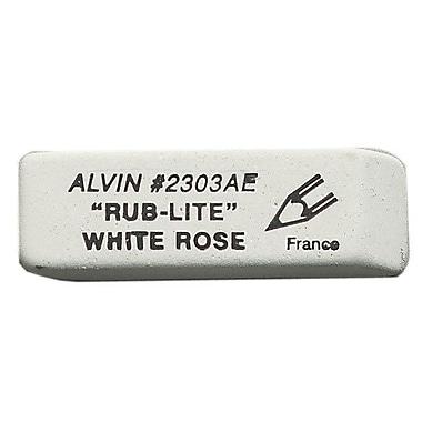 Alvin and Co. Rub-Lite Soft Eraser; White