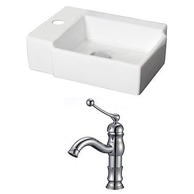 American Imaginations 17'' Wall Mount Bathroom Sink