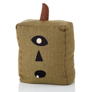 Sage & Co. Halloween Folkart Square Cloth Pumpkin Decoration