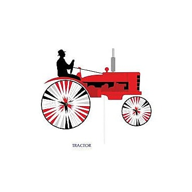 Premier Designs Tractor Spinner; Red